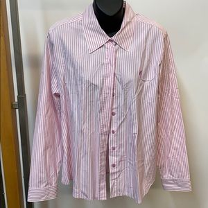 Lilli Pulitzer striped long sleeve shirt size 12